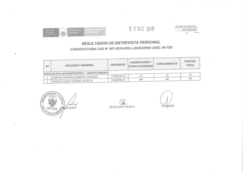 CAS 007-2015