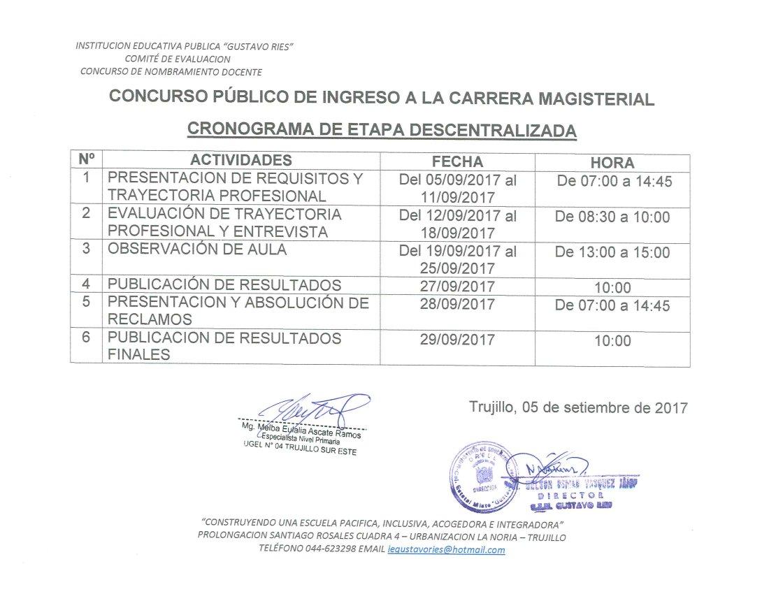 Concurso docente a la carrera magisterial 2016 concurso p for Concurso meritos docentes 2016